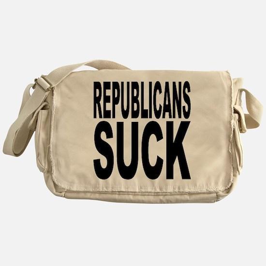 Republicans Suck Messenger Bag