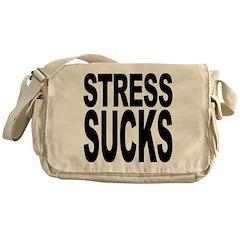 Stress Sucks Messenger Bag