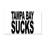 Tampa Bay Sucks Car Magnet 20 x 12