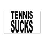 Tennis Sucks Car Magnet 20 x 12