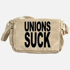 Unions Suck Messenger Bag