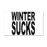 Winter Sucks Car Magnet 20 x 12