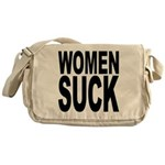 Women Suck Messenger Bag