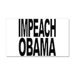 Impeach Obama Car Magnet 20 x 12