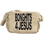 Bonghits 4 Jesus Messenger Bag