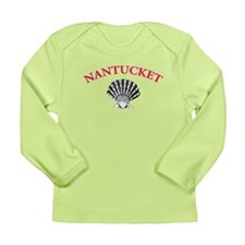 Nantucket Shell Long Sleeve Infant T-Shirt