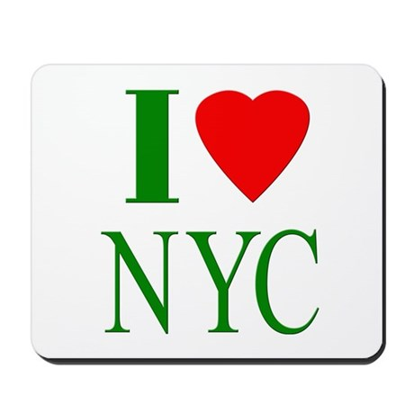 I Love NYC Mousepad