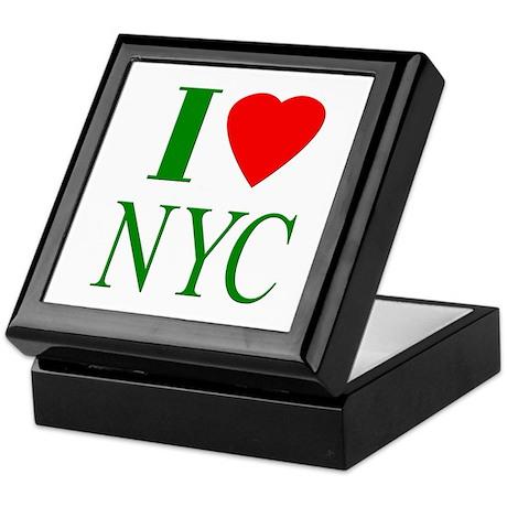 I Love NYC Keepsake Box