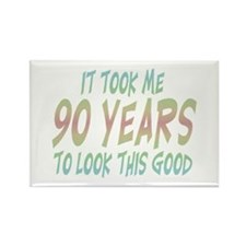 Cool Over the hill Rectangle Magnet (100 pack)