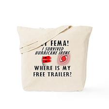 Hurricane Irene FEMA Tote Bag