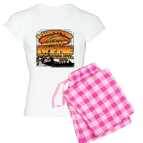 Hurricane Irene NYC Women's Light Pajamas