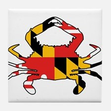 Maryland Crab Tile Coaster