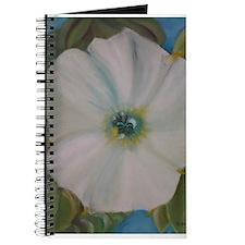 Large White Flower Journal