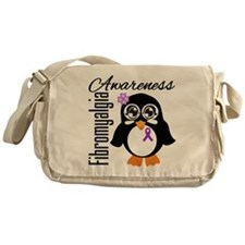 Penguin Fibromyalgia Messenger Bag