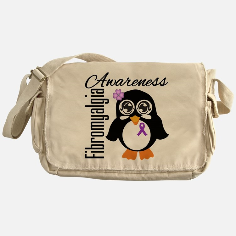 Penguin Fibromyalgia Messenger Bag