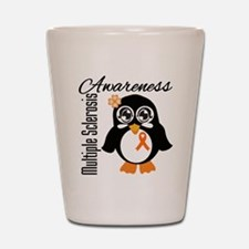 Penguin Multiple Sclerosis Shot Glass