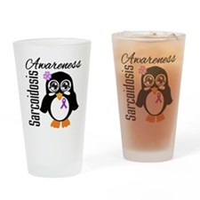 Penguin Sarcoidosis Drinking Glass