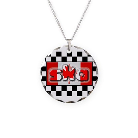 O Skanada! Necklace Circle Charm