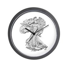 Liberty Walking Wall Clock