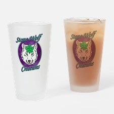 Stone Wolf Creations Drinking Glass
