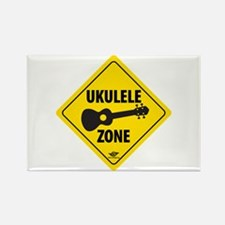 Ukulele Zone Rectangle Magnet