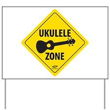 Ukulele Zone Yard Sign
