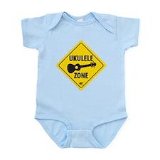 Ukulele Zone Infant Bodysuit
