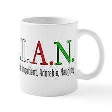 Italian Letters Mug