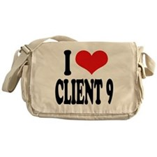 I Love Client 9 Messenger Bag