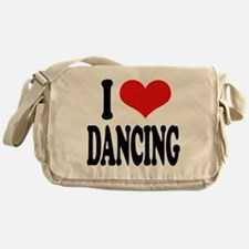 I Love Dancing Messenger Bag