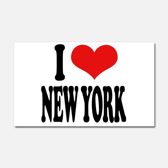 I * New York Car Magnet 20 x 12