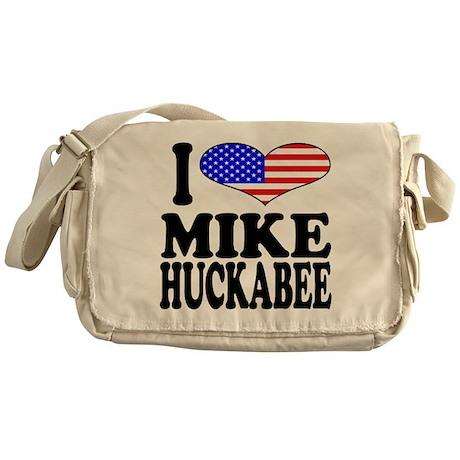 I Love Mike Huckabee Messenger Bag
