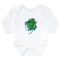 Hurricane Irene Long Sleeve Infant Bodysuit