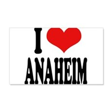 I Love Anaheim 22x14 Wall Peel