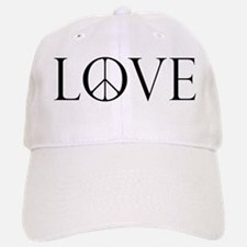 Love Peace Sign Baseball Baseball Cap