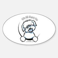 Coton de Tulear IAAM Sticker (Oval)