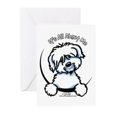 Coton de Tulear IAAM Greeting Cards (Pk of 20)