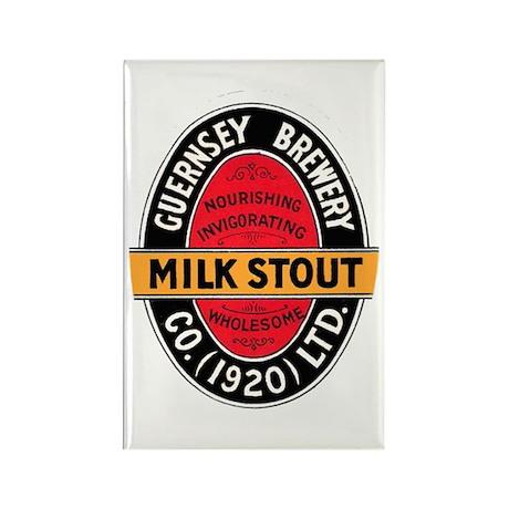 United Kingdom Beer Label 5 Rectangle Magnet (10 p