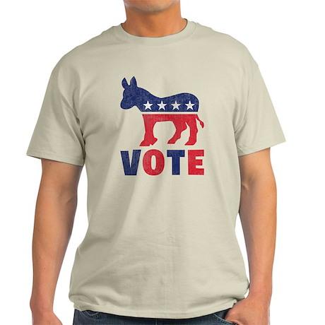 Democrat Vote 2 Light T-Shirt