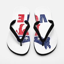 Democrat Vote 2 Flip Flops