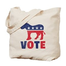 Democrat Vote 2 Tote Bag