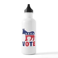 Democrat Vote 2 Water Bottle