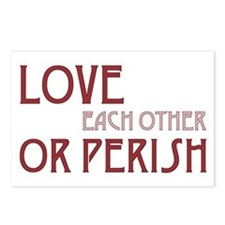 Love or Perish Postcards (Package of 8)