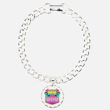 Pink Super Mom Bracelet