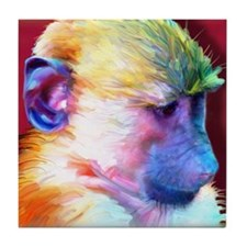 Baboon Tile Coaster