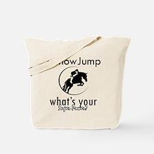 I Show Jump Tote Bag
