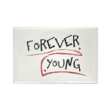 Forever Young Rectangle Magnet