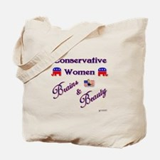 Conservative Women Tote Bag