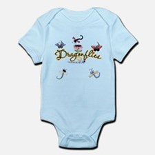I Love Dragonflies Infant Bodysuit