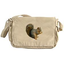 Peace Squirrel Messenger Bag